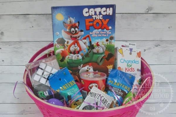 Game themed Easter Basket for Kids