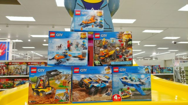LEGO City sets that are all under 10 dollars each
