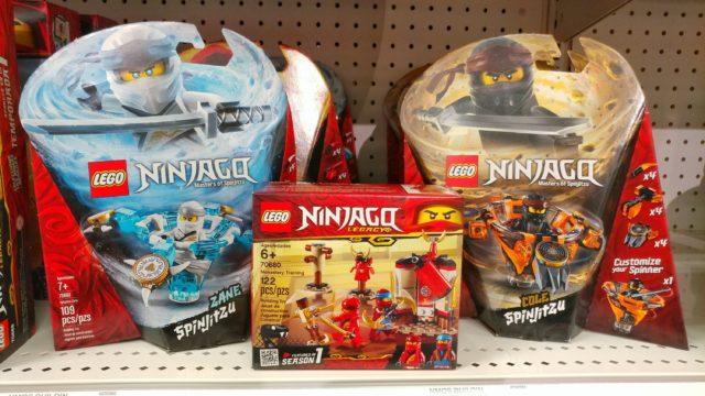 LEGO Ninjago Spinjitzu and Monastery