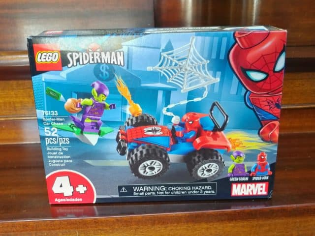 LEGO Spiderman Car Chase is one of many LEGO sets that are less than $10