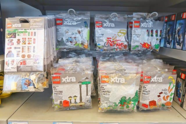 The LEGO store has Xtra themed accessory packs for about 4 dollars each