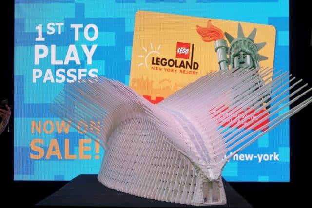 LEGO Oculus model build revealed at LEGOLAND New York press event