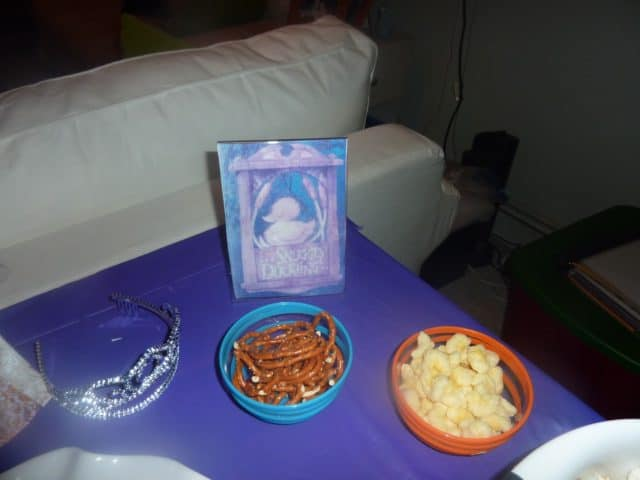 tangled movie night snacks