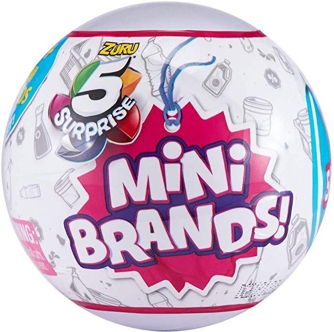 5 Surprise Mini Brands