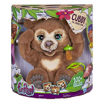 FurReal Cubby, The Curious Bear