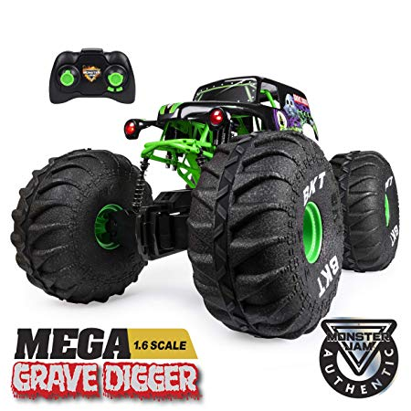 Mega Grave Digger All-Terrain Remote Control Monster Truck