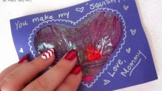 Valentine's Cards: Squishy Hearts