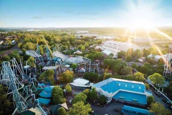 Hersheypark Aerial View