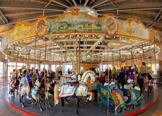 The B&B Carousell at Luna Park in Coney Island