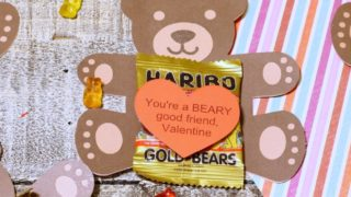 Kids Valentines Cards You're a Beary Good Friend