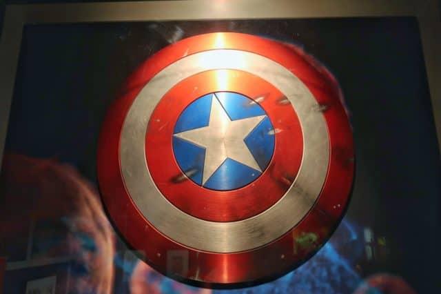 Captain America's Vibranium Shield