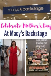 Mother's Day gifts and clothes from Macy's Backstage