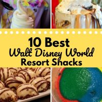 10 Best Snacks at Walt Disney World Resorts