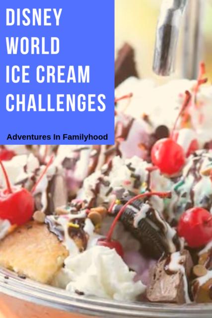 Walt Disney World Ice Cream Challenges Adventures In Familyhood