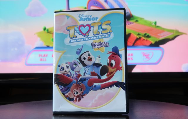 Disney T.O.T.S DVD