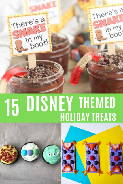 disney themed treats