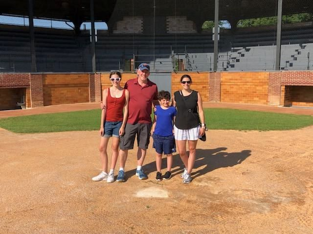 family at doubleday field