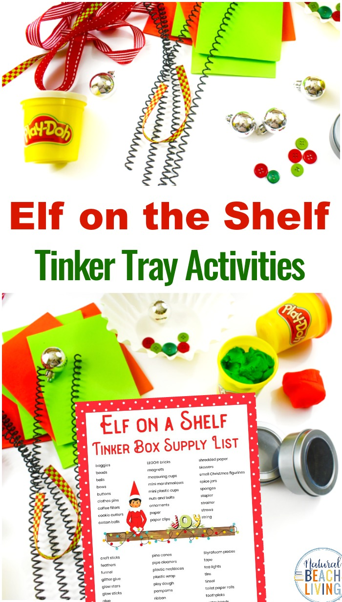 Elf on the Shelf STEM Activities