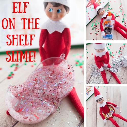Elf on the Shelf Slime