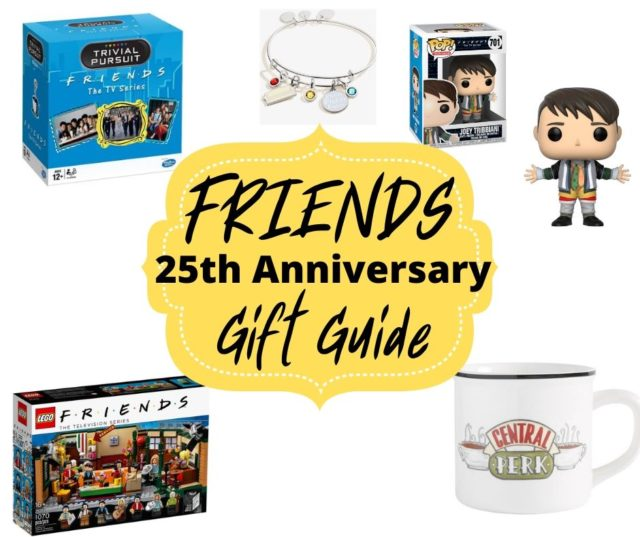 Friends 25th Anniversary Gift Guide