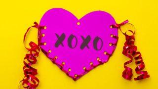 Kids Craft: Valentine's Day Paper Heart Pouch