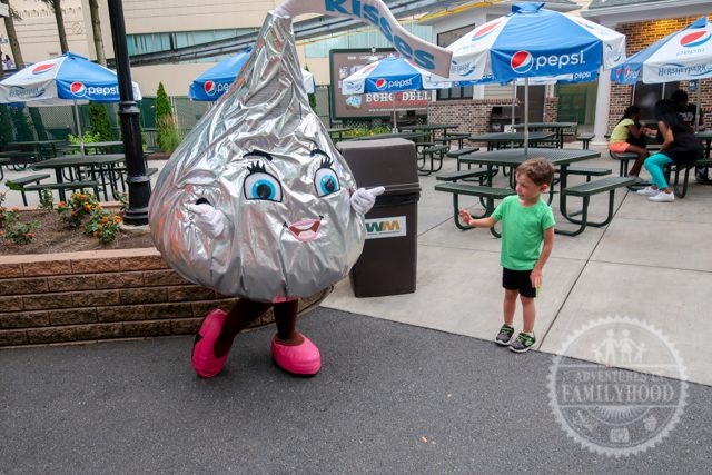 hershey kiss meet and greet hersheypark