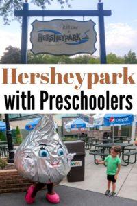 hersheypark with preschoolers