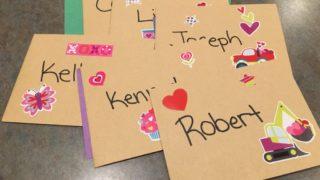 DIY Valentine's Day Ice Cream Cards