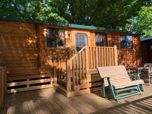 cabin at KOA