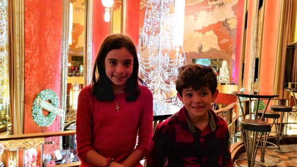 kids at Radio City Music Hall
