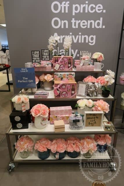 selection of Mother's Day gifts from Macy's Backstage