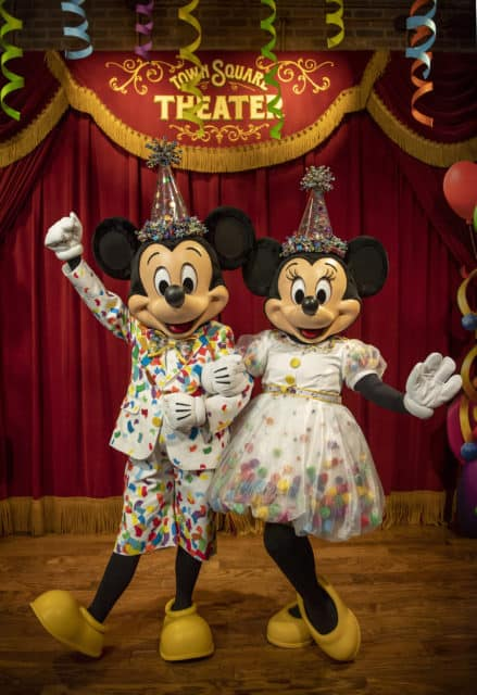 Mickey Mouse Meet and Greet in Town Square Theater in Disney World