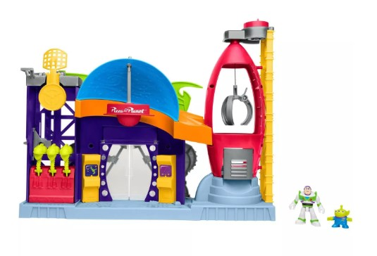 Imaginext Toy Story 4 Pizza Planet Playset