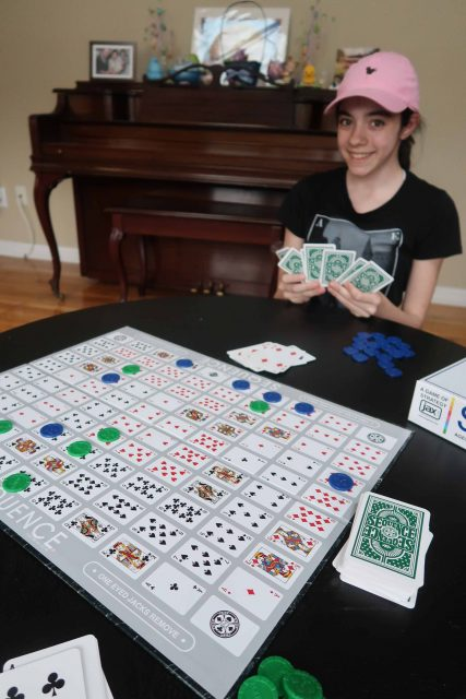 Sequence game from Goliath Games