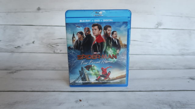Spider-Man Far From Home DVD