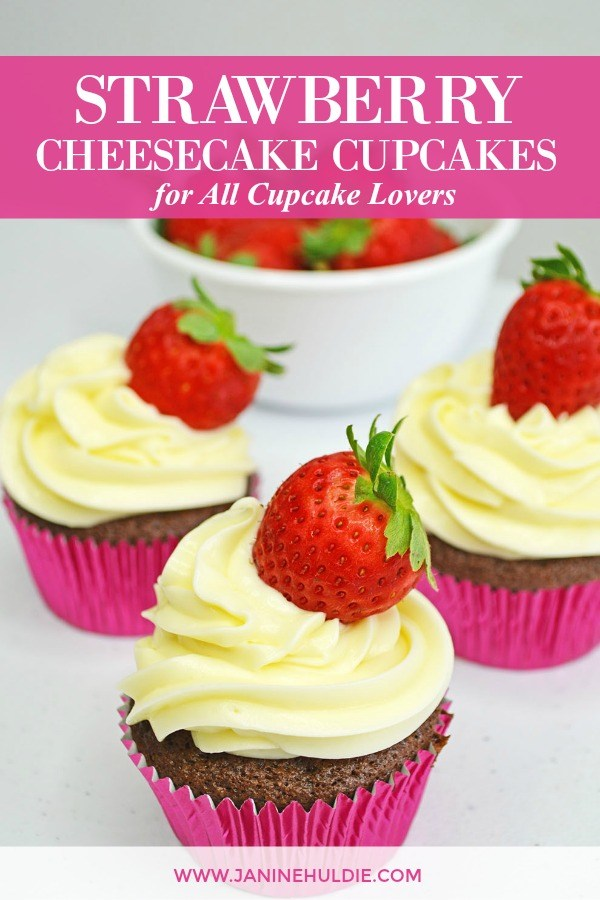 Strawberry Cheesecake Cupcakes Recipe for All Cupcake Lovers