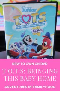 Disney Junior T.O.T.S. DVD