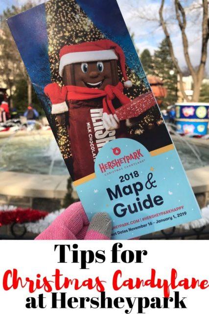 hersheypark christmas candylane guide