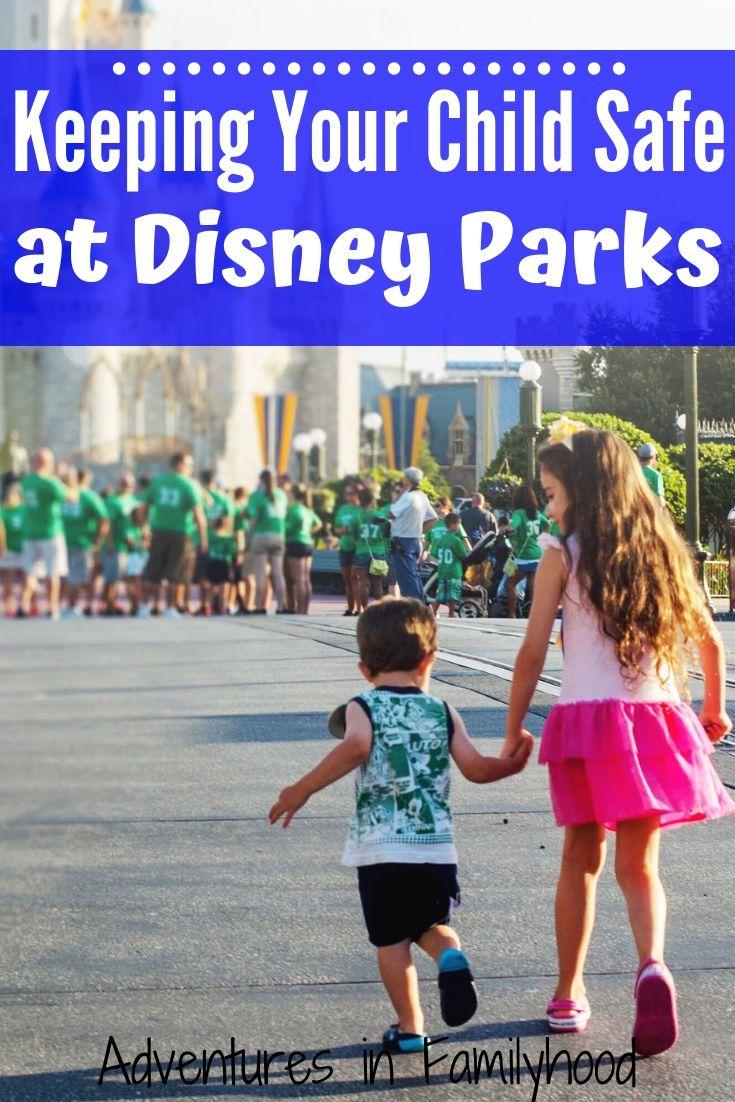 tips for keeping kids safe at Disney