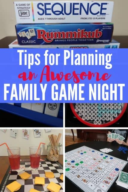 Tips for Family Game Night