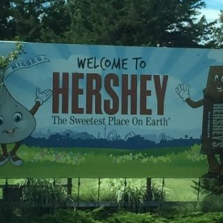 Welcome to Hershey Sign