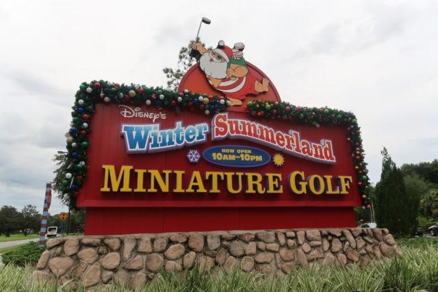 winter summerland miniature golf