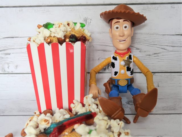 Woody Toy Story 4 Road Trip Snack mix