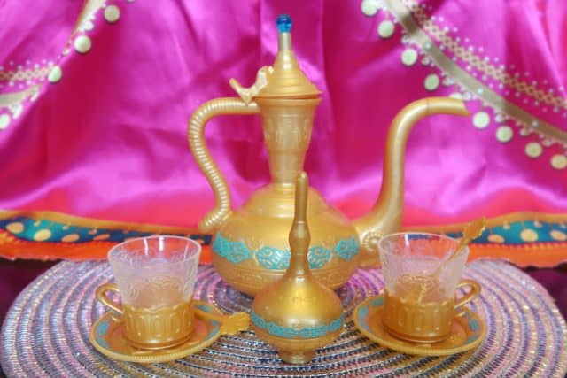Agrabah tea set from aladdin movie