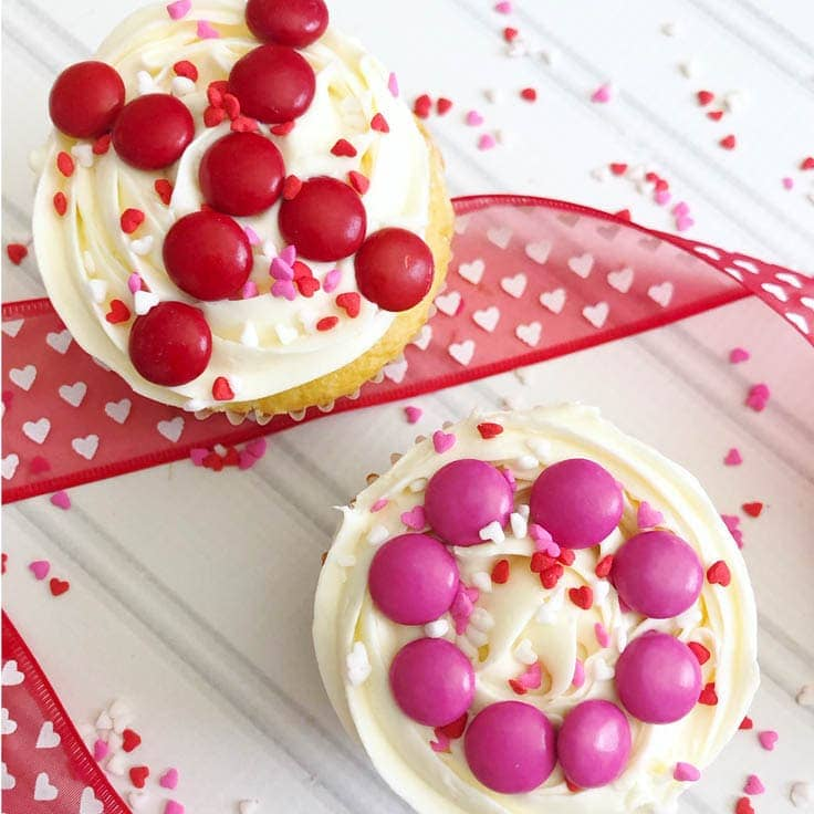 Easy to Make Valentine Cupcakes | Ideas for the Home