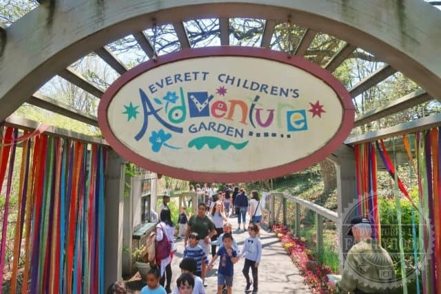 entrance to the Everett Children's Adventure Garden at NYBG
