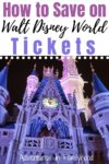 how to save on disney world tickets
