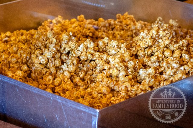 werther's caramel popcorn in Karamel Kuche in the Germany pavilion at Epcot