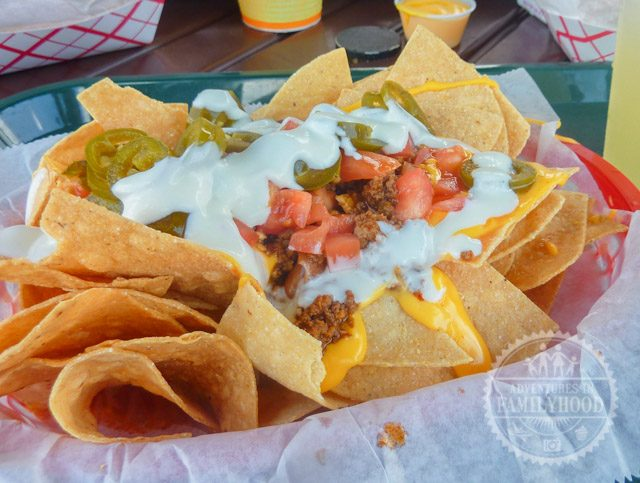 Nachos from Cantina de San Angel in Mexico pavilion at Epcot