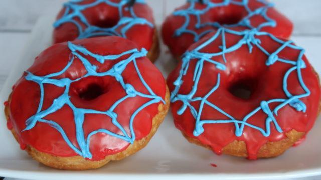 spider-man doughnuts